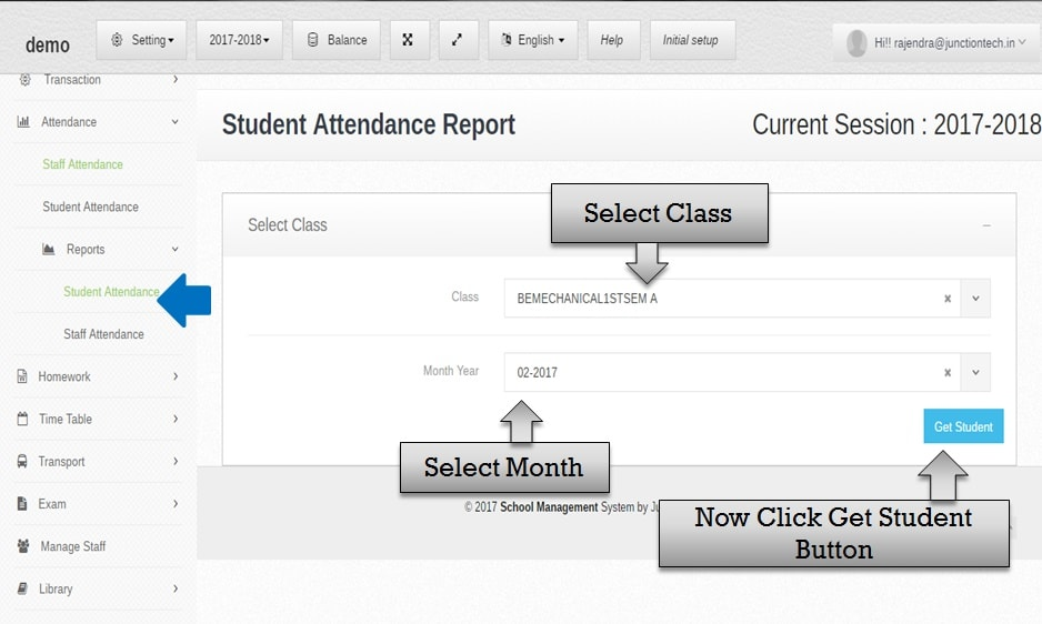 attendance management software student class attendance
