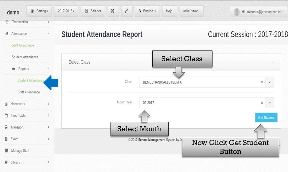 attendance management software student class attendance