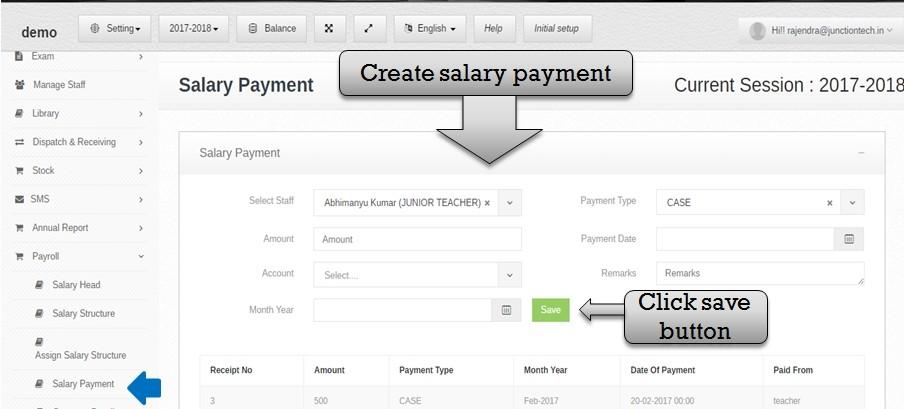 payroll salary payme