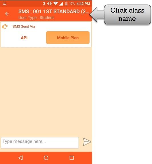 click student class