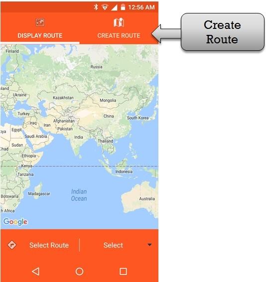 create route