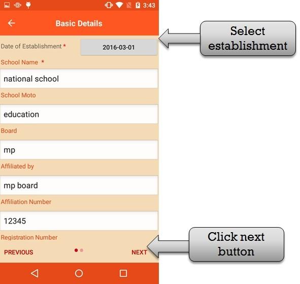 Android school App
