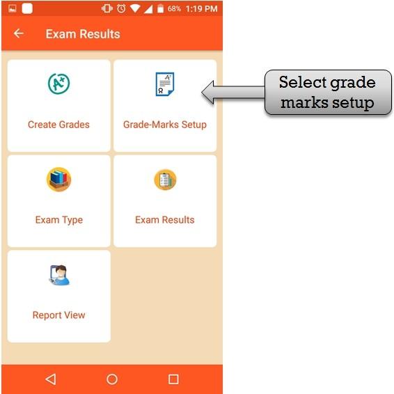 grade marks set_up