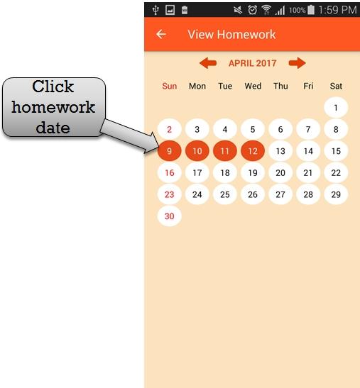 homework date