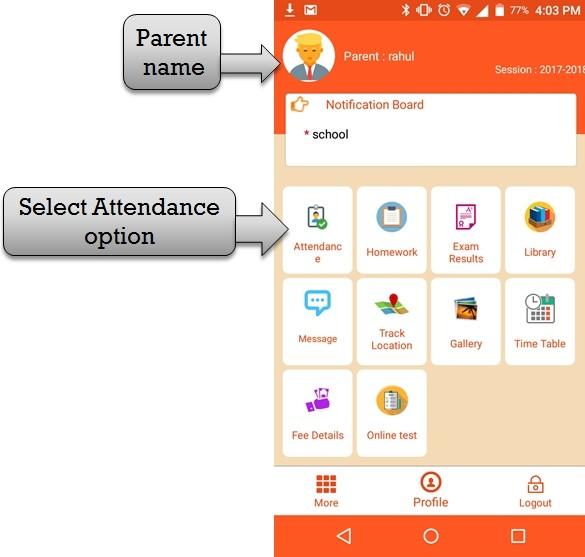 parent attendance
