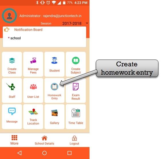 select homework