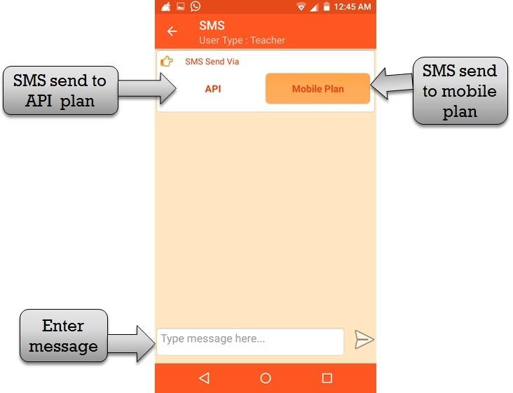 staff sms plan